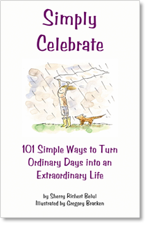 Simply Celebrate by Sherry Richert Belul - Illustrated by Gregory Bracken