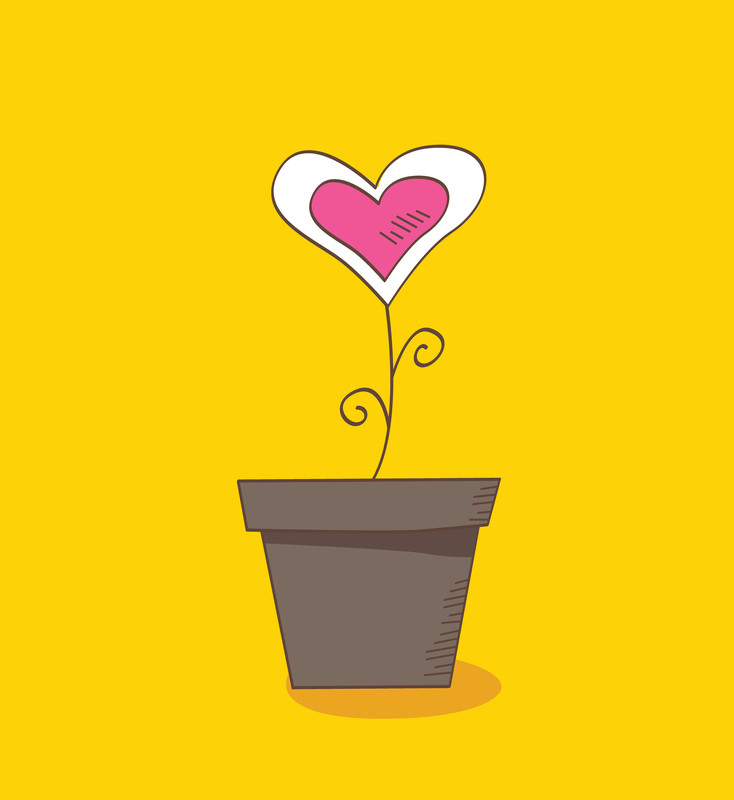 potted-heart-flowers-canstockphoto2008566