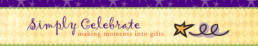 Simply Celebrate header image